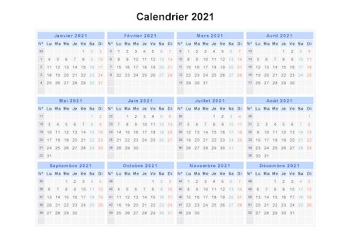 Calendrier Scolaire 2021 Maroc