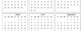 Calendrier Des Vacances 2022 Maroc