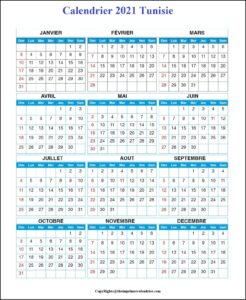 Calendrier Vaccinal Tunisie 2021 Imprimable