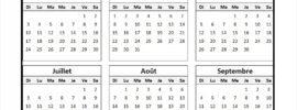 Calendrier Islamique 2022 PDF